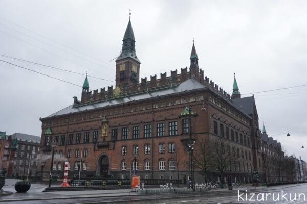 コペンハーゲン1日観光で行ったコペンハーゲン市庁舎