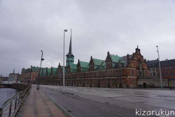 コペンハーゲン1日観光で行った旧証券取引所