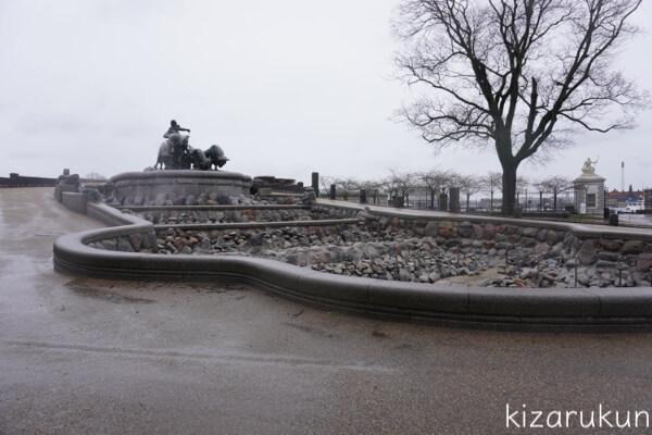 コペンハーゲン1日観光で行ったゲフィオンの噴水