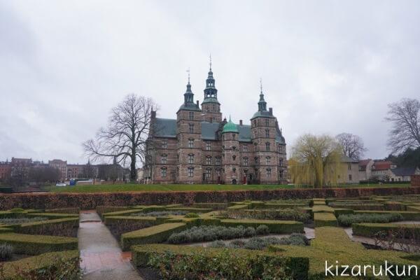 コペンハーゲン1日観光で行ったローゼンボー城