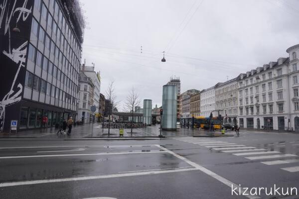 コペンハーゲン1日観光で行ったノアポート駅