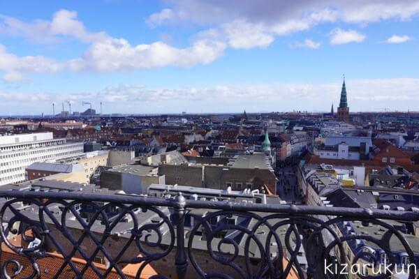コペンハーゲン1日観光で行ったラウンドタワー
