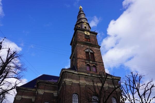 コペンハーゲン1日観光で行った救世主教会