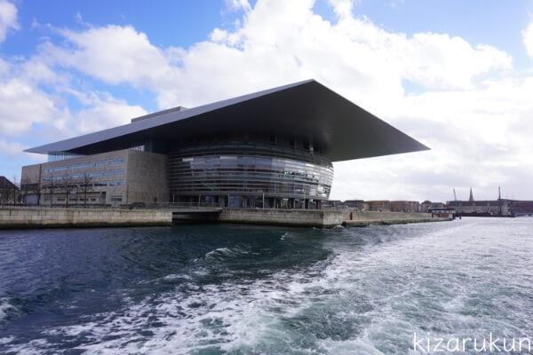 コペンハーゲン1日観光で乗った水上バス