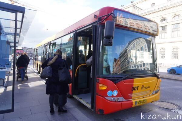 コペンハーゲン1日観光で見たバス
