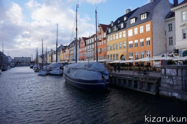 コペンハーゲン1日観光で行ったニューハウン