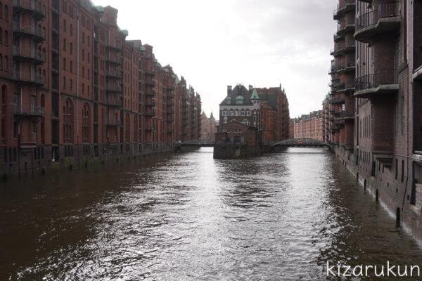 ハンブルク半日観光で行った倉庫街