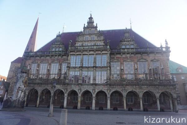 ブレーメン半日観光で行ったブレーメン市庁舎