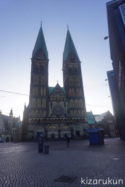 ブレーメン半日観光で行った聖ペトリ大聖堂