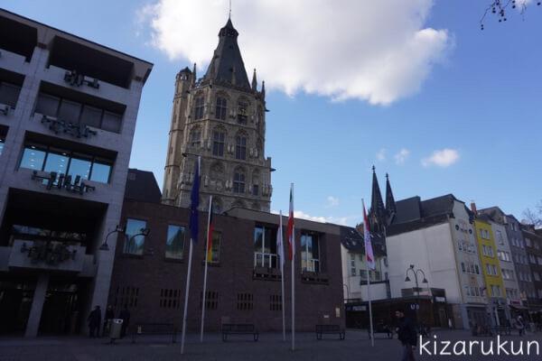 ケルン半日観光で行った旧市庁舎