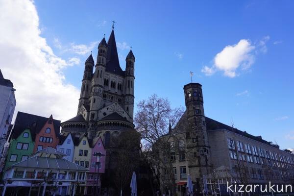 ケルン半日観光で行った聖マルティン教会