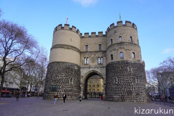 ケルン半日観光で行ったHahnen Gate