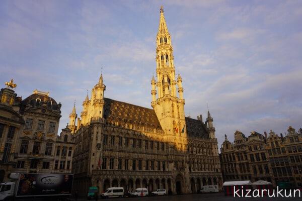 ブリュッセル半日観光で行ったグランプラス