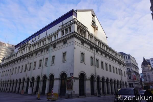 ブリュッセル半日観光で行ったモネ劇場