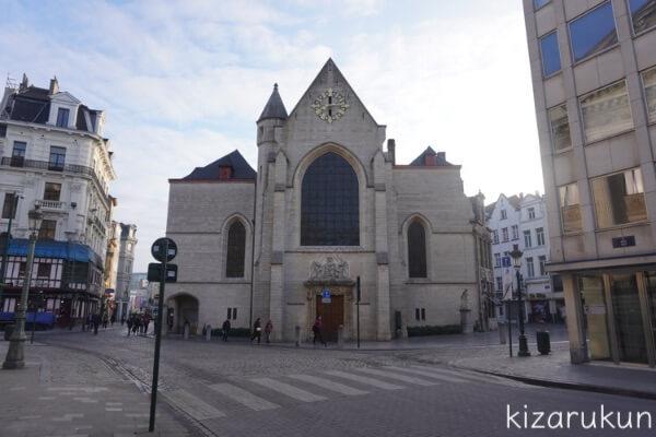 ブリュッセル半日観光で行った聖ニコラス教会