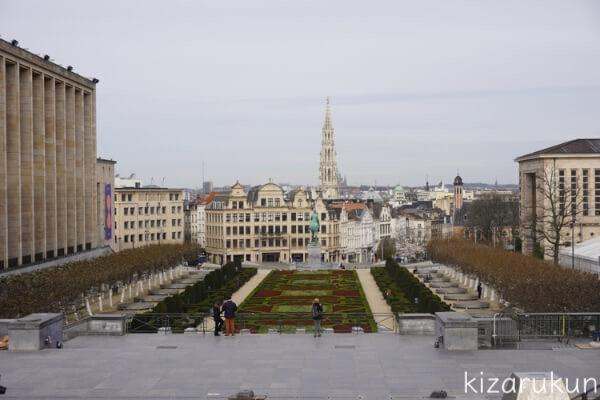 ブリュッセル半日観光で行った芸術の丘