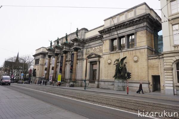 ブリュッセル半日観光で行った王立美術館