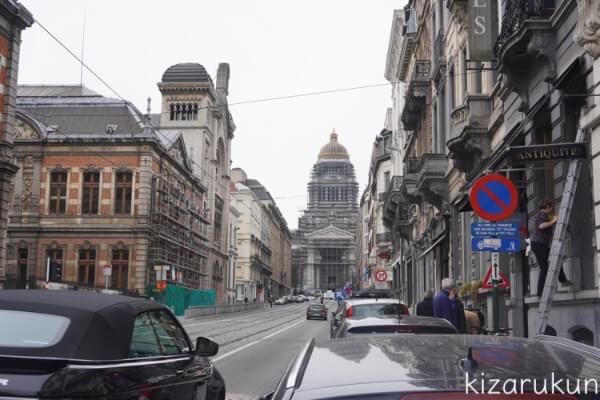 ブリュッセル半日観光で行ったブリュッセル最高裁判所