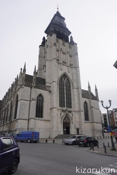 ブリュッセル半日観光で行ったノートルダム・ド・ラ・シャペル教会
