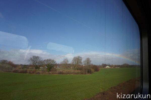 デデンマークのコペンハーゲンからドイツのハンブルクまでの鉄道列車移動「渡り鳥コース(渡り鳥ライン・渡り鳥ルート)」