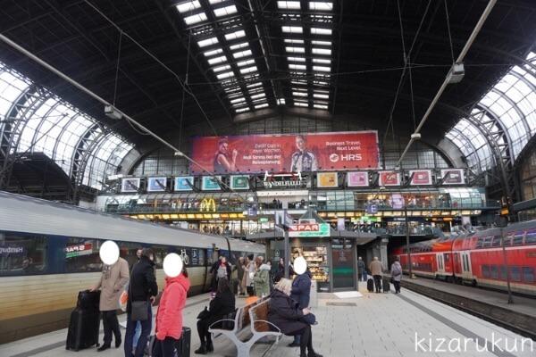 デンマークのコペンハーゲンからドイツのハンブルクまでの鉄道列車移動「渡り鳥コース(渡り鳥ライン・渡り鳥ルート)」