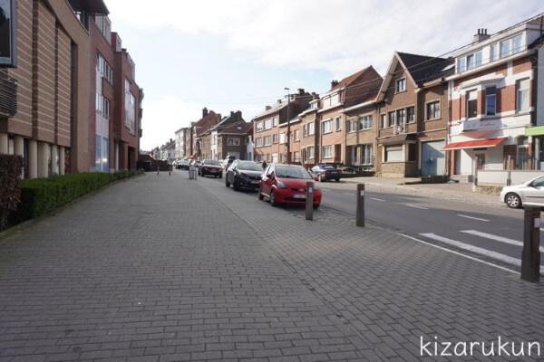 ベルギーのワーテルローの街並み