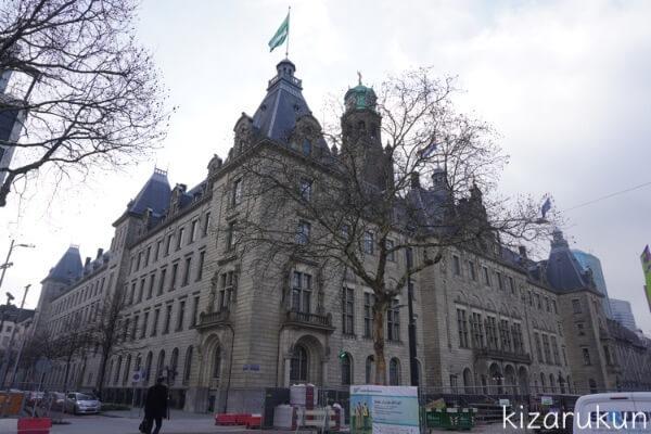 ロッテルダム半日観光で行ったロッテルダム市庁舎
