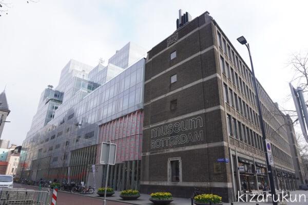 ロッテルダム半日観光で行ったロッテルダム博物館