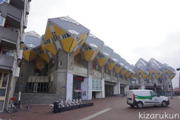 ロッテルダム半日観光で行ったキューブハウス