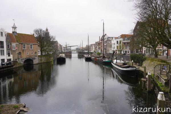 ロッテルダム半日観光で行ったデルフスハーヴェン