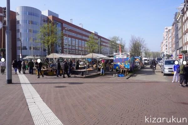 アムステルダム1日観光で行った蚤の市