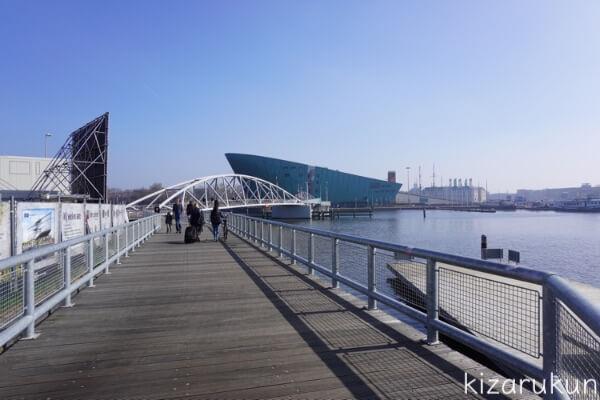 アムステルダム1日観光で行った科学博物館