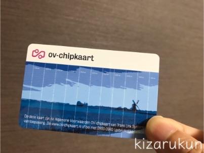 アムステルダム1日観光で買った1日乗車券