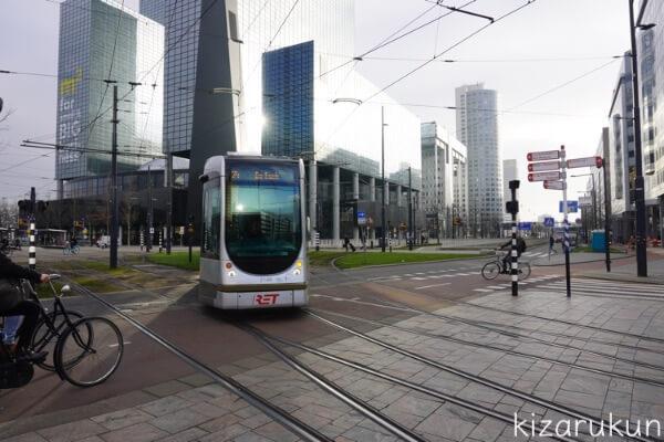 ロッテルダムの基本情報と観光情報:トラム