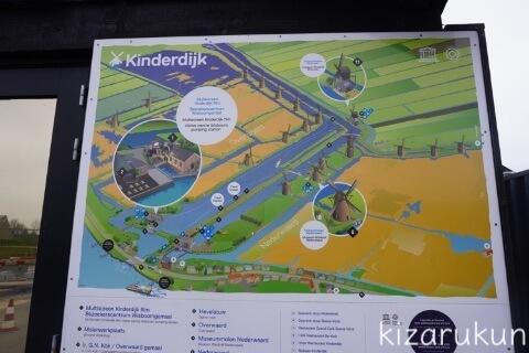 キンデルダイク観光記録