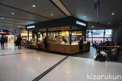 フランス・パリのシャルル・ド・ゴール空港の第1ターミナルの飲食店・カフェ・売店等の施設紹介・案内:スターバックス
