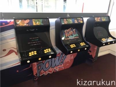 フランス・パリのシャルル・ド・ゴール空港の第1ターミナルの飲食店・カフェ・売店等の施設紹介・案内:ゲームコーナー