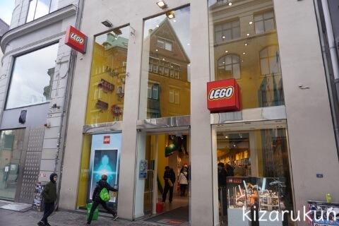 デンマーク・コペンハーゲン1日観光で散策したストロイエ:LEGO