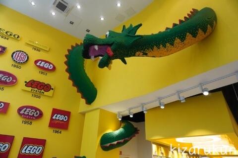 デンマーク・コペンハーゲン1日観光で行ったレゴ・ストア・コペンハーゲン本店