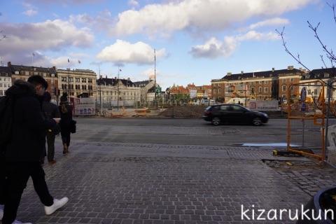 デンマーク・コペンハーゲン1日観光で散策したストロイエ:コンゲンス・ニュートー広場とニューハウン