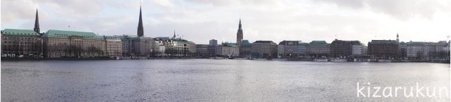 ドイツ・ハンブルクの内アルスター湖散策記録