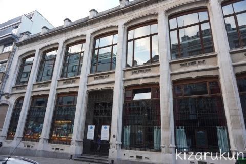 ブリュッセル半日観光で巡ったタンタン関連スポット:ベルギー漫画博物館