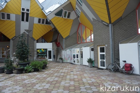 ロッテルダム半日観光で行ったキューブハウスの見学レポート:外観