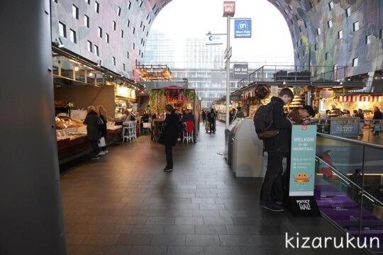 ロッテルダム半日観光で行ったマルクトハル