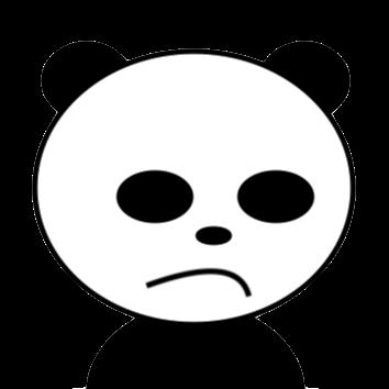 鬼滅の刃を観たいパンダ