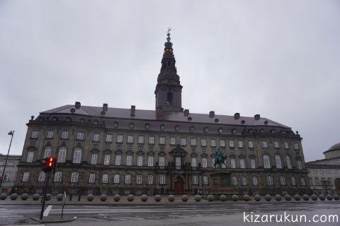コペンハーゲンクリスチャンボー城