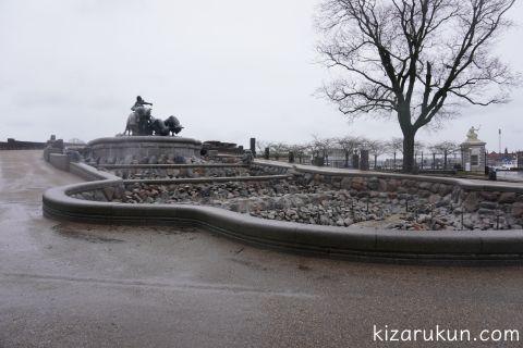 コペンハーゲンゲフィオンの噴水